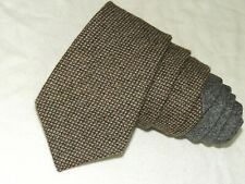 "Hickey Freeman MEN'S TIE BROWN & GRAY/SOLID 3.5"" 59"" USA"