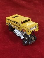 Vintage Original Redline Hot Wheels S'Cool Bus 1970 H.K. Yellow School Bus P001