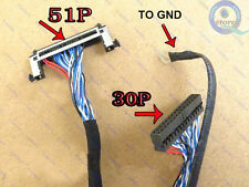 51P LVDS Cable FOR Samsung, AU general high-definition LCD television screen