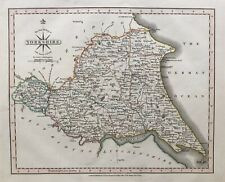 1809 Antique Map; Yorkshire, East Riding, John Cary, New & Correct English Atlas