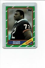 "1986 Topps WILLIAM ""Refrigerator"" PERRY RC Rookie #20"