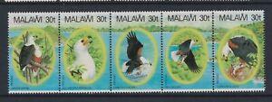 Malawi - 1983, Afrikanische Fisch Adler, Vögel Set IN Streifen - MNH - Sg 674/8