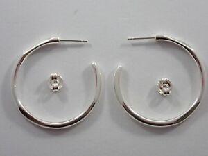 LINKS OF LONDON 925 SOLID STERLING SILVER 20/20 HOOP EARRINGS