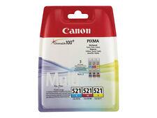 Canon CLI-521 Cyan Magenta Yello Multipack