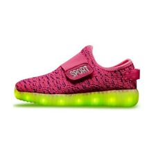 Kids USB LED Luminous Light Weight Sneakers Light up Shoes Colorful Flash Shoes