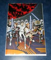 STAR WARS ADVENTURES the CLONE WARS #1 1:100 OEMING ratio variant IDW COMIC 2020