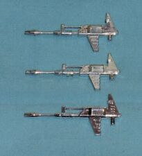 original G1 Transformers BLUESTREAK PROWL SMOKESCREEN GUN LOT x3 weapon part