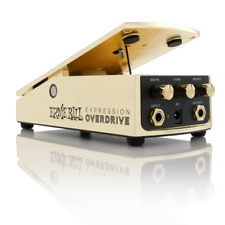 Ernie Ball Gold Expression Overdrive Pedal for Electric Guitar Model #P06183