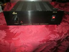 Dbx Xb140 Subwoofer Power Amplifier As-Is Static