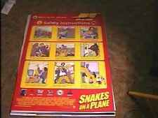 Snakes On A Plane 27X40 Movie Poster Safety Instruction