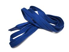 "52"" 130cm Flat Shoe laces Blue for kyrie kobe kd air jordan max flight asics"