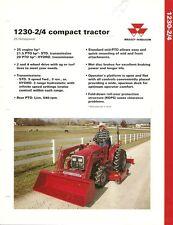 Farm Tractor Brochure - Massey Ferguson - MF 1230 Compact 2/4WD - 1993 (F1854)