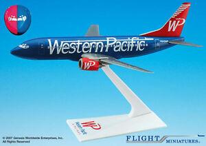 Flight Miniatures Western Pacific Split Colors Boeing 737-300 1:200 Scale N945WP