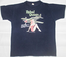 Vintage The Real McCoy'S Rebel Queen Air Force Aff Buzz Rickson T-Shirt