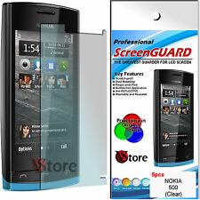 5 pcs. SCREEN PROTECTOR FILM LCD DISPLAY FOR NOKIA 500 N500