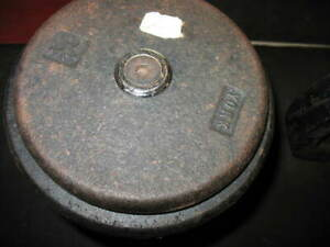 YORK BARBELL PRO-STYLE DUMBBELLS SET OF (2), APPROX. 80LBS. TTL.=160LBS.