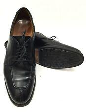 Allen Edmonds Dellwood Mens Black Split Toe Derby Shoes Sz. 9 E