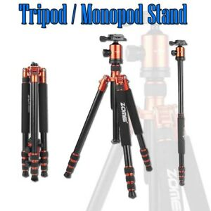 Tripod Stand Monopod For Digital SLR DSLR Camera Heavy Duty Professional Travel