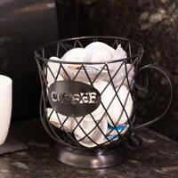2x Coffee Pod Holder Warehouse Mug Kup Keeper Coffee Pod Coffee Mug Storage