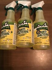 Cleaning Supplies: Mean Green Anti- Bacterial Multi Surface Cleaner 3 Bottles