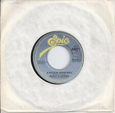 "Boiteux & BONNIE-a rockin 'good way 7"" vinyl 1983 SHAKIN' STEVENS & Bonnie Tyler"
