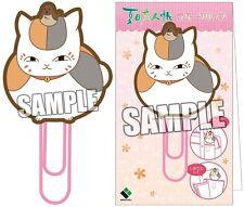 Natsume's Book of Friends Yuujinchou Rubber Clip Nyanko Sensei Suzume Sparrow