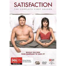 SATISFACTION-Season 1-Region 4-New AND Sealed-2 Disc Set-TV Series