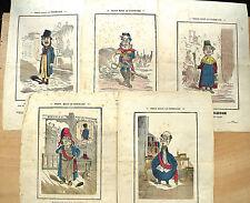 Gravure sur Bois en couleur, Lot, Paris sous la Commune, 2ème Partie du XIXème