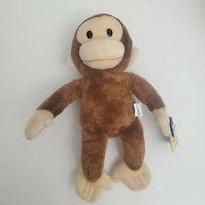 "Applause Curious George 11"" Stuffed Animal Monkey Classic Plush EUC with Tags"
