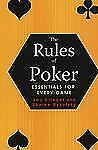 The Rules of Poker: Essentials for Every Game-ExLibrary