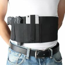 Belly Band Holster Concealed Carry with Magazine Pocket Pouch For Women And Men