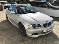 2002 BMW 330 CI M Sport Convertible  only 98,000 miles