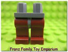 LEGO Minifig Reddish Brown LEGS Castle Fantasy Era/Viking Dark Bluish Gray Hips