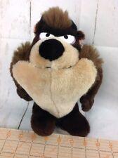 Vintage Taz Stuffed Plush 1971 Mighty Star Looney Tunes Tasmanian Devil 10 inch