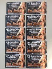 Live-strip.com    10 x VIP Gutschein