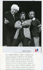 WOLFMAN JACK KIP WALTON KEN EHRLICH PORTRAIT MIDNIGHT SPECIAL 1977 NBC TV PHOTO