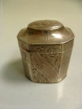 Antique Silver 19th Century Dutch Spice / Snuff Box