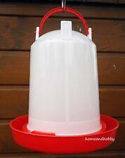3 Liter Stülptränke aus Kunststoff, Hühner, Geflügel, Enten, Tränke