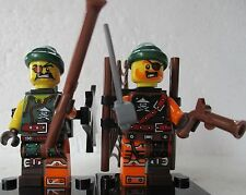 Bucko Pirata & squiffy Ninjago MINI FIGURA libero LEGO ARMA UK STOCK