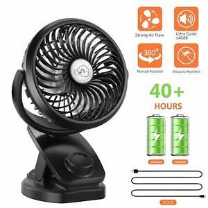 Mini Ventilateur Portable Bule fonc/é Ventilateur /à Main Bureau et Voyage USB Rechargeable avec 3 Vitesses Ventilateur de table pour Maison