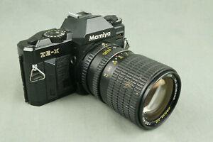 Vintage MAMIYA ZE-X Spiegelreflexkamera mit OSAWA MC 3.5-4.5/35-105