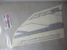 Yamaha Aufkleber Schriftzug Beinschutz rechts YQ50 Aerox 2003 Graphic right NEU