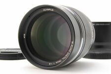 Olympus M.Zuiko 75mm f/1.8 AF ED Lens For Micro 4/3 (Black)