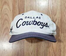 Dallas Cowboys Hat Vintage Sports Specialties Snapback Cap Script