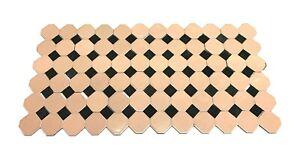 Shiny Pink Octagon & Matte Gray Tile Back Splash Lot