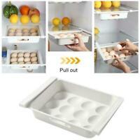 Refrigerator Food Egg Storage Box Rack Fridge Drawer Shelf Organizer B4N2