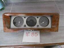 UN BLOC  de 3 COMPTEURS pour PEUGEOT 504 coupé - cabriolet V6