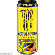 12 Dosen a 0,5L Monster The Doctor  Drink inc. Pfand gelb Rossi Edition
