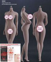 "TBLeague 1:6 S09C Seamless Phicen Skeleten Suntan Body Model F 12"" Female Figure"