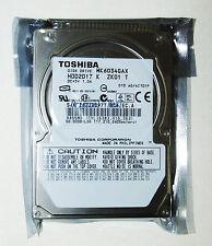 "Toshiba 60GB 5400 RPM IDE 2.5 ""notebook hard drive MK6034GAX"